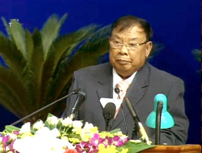 Bounnhang Volachit, nuevo secretario general del Partido Popular Revolucionario de L hinh anh 1