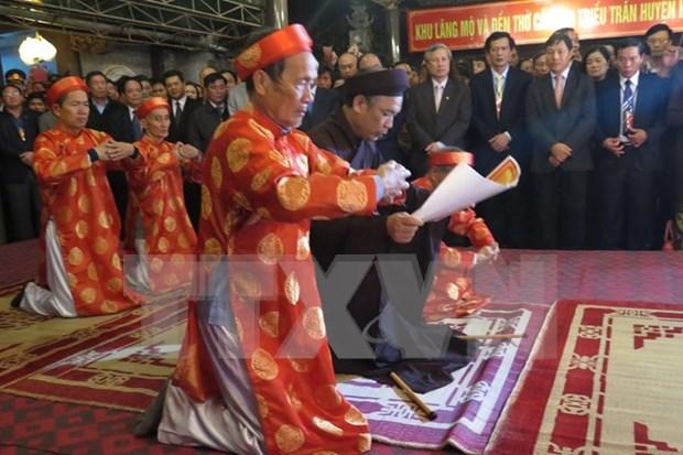 Celebraran Festival del Templo Tran en febrero proximo hinh anh 1