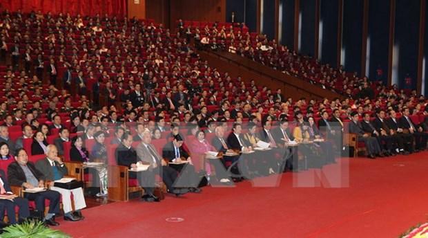 Congreso Nacional del PCV: Llevar al pais a camino de desarrollo fuerte hinh anh 1