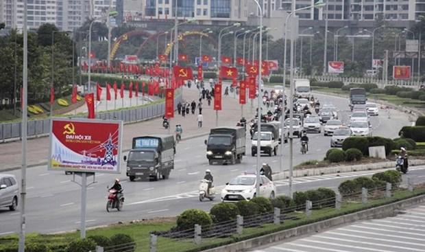 Bloomberg destaca perspectiva economica de Vietnam tras Congreso del PCV hinh anh 1