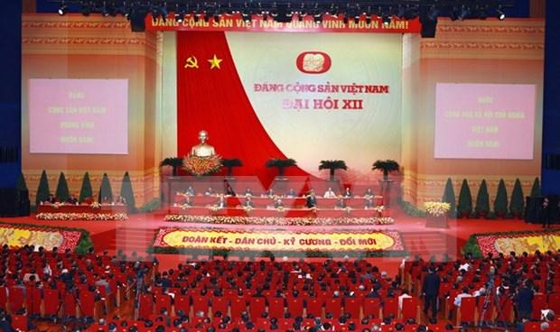 Delegados del XII Congreso del PCV apoyan garantia de igualdad para todas las empres hinh anh 1