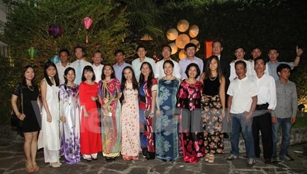 Comunidad vietnamita en Argentina celebra Nuevo Ano Lunar hinh anh 1