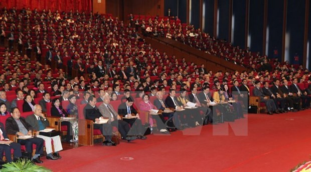 XII Congreso Nacional: Impulsan construccion de filas partidistas hinh anh 1