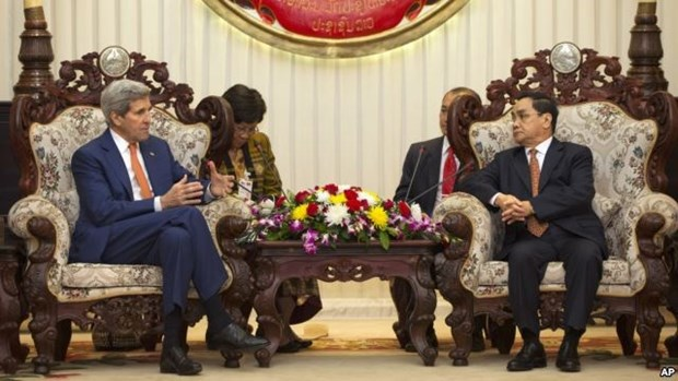 Estados Unidos y Laos fomentan relaciones bilaterales hinh anh 1