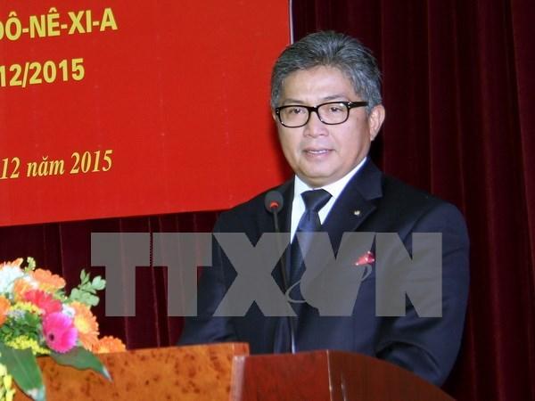 Diplomatico indonesio laureado con distincion de Vietnam hinh anh 1