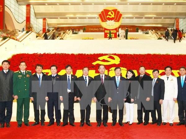 XII Congreso de PCV continua debates sobre cuestion de personal hinh anh 1