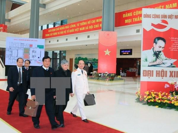 Delegados califican de franco informe presentado en XII Congreso del PCV hinh anh 1
