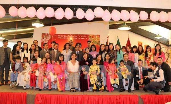 Vietnamitas y mexicanos juntos celebran el Tet con mariachi y canto folclorico hinh anh 1