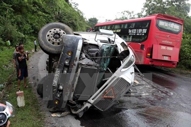 Accidentes de trafico cobran 735 muertos en enero hinh anh 1