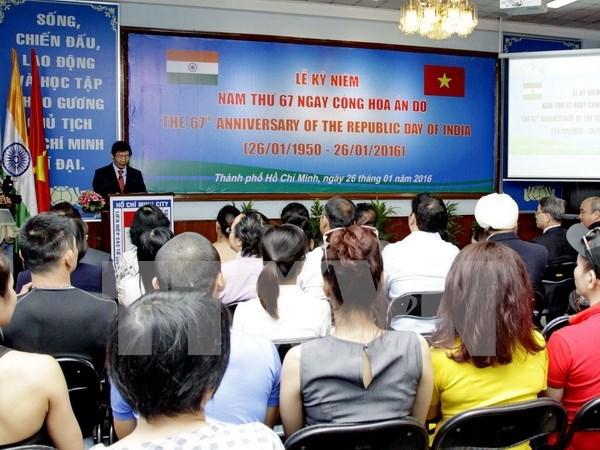 Ciudad Ho Chi Minh celebra aniversario 67 de la Independencia de la India hinh anh 1