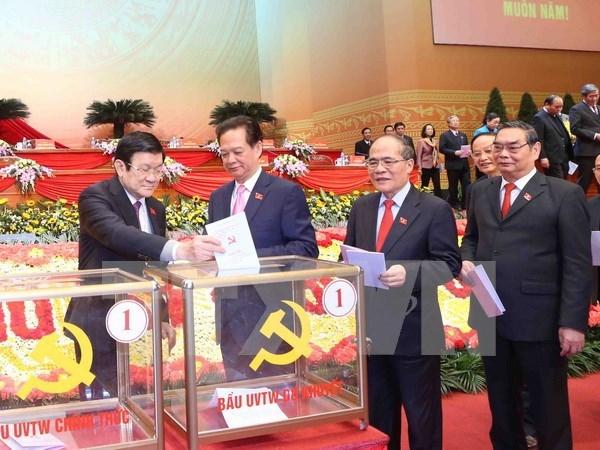 XII Congreso del PCV: Comunicado de prensa sobre sexta jornada de trabajo hinh anh 1