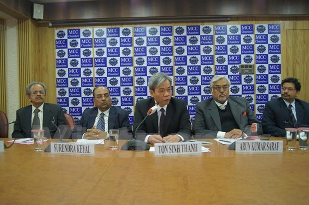 En la India seminario sobre cooperacion y negocios con Vietnam hinh anh 1