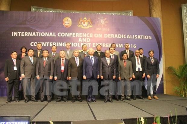 Dispuesto Vietnam a cooperar con comunidad internacional contra extremismo violento hinh anh 1