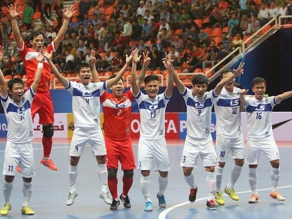 Seleccion vietnamita parte a Uzbekistan para campeonato asiatico de futsal hinh anh 1