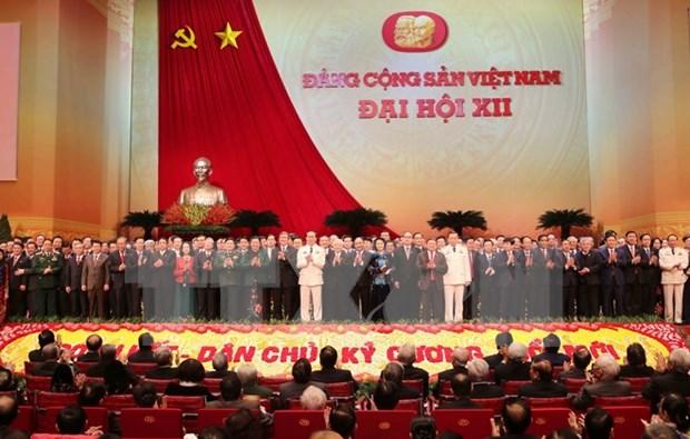 Anuncian resultados de eleccion de miembros del Buro Politico hinh anh 1