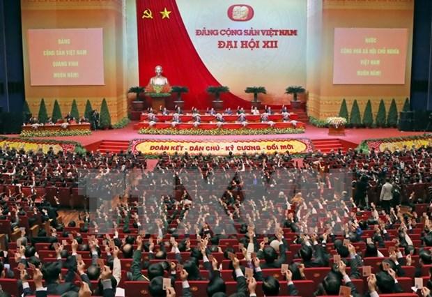 Mas mensajes de felicitaciones enviadas al XII Congreso del PCV hinh anh 1