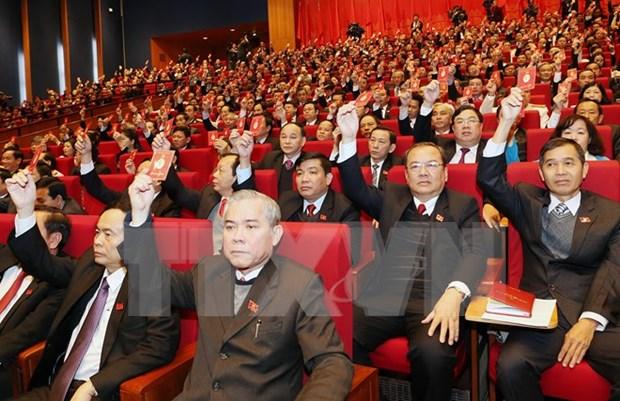 Delegados determinan en poner en practica Resolucion del XII Congreso del Partido hinh anh 1