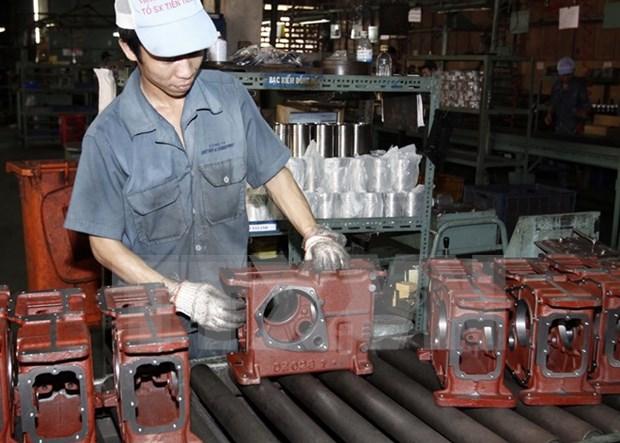 Indice de produccion industrial aumenta casi seis por ciento hinh anh 1
