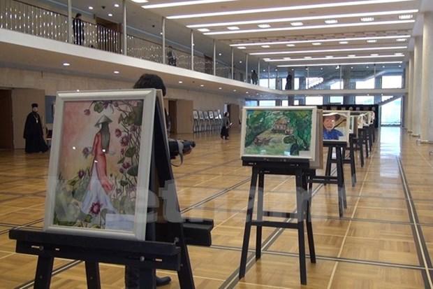 Exposicion en Kremlin releja afecto de alumnos hacia Vietnam y Rusia hinh anh 1