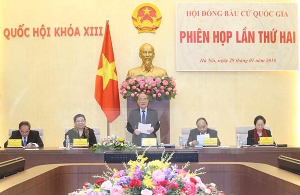 Vietnam prosigue preparativos para elecciones parlamentarias en 2016 hinh anh 1