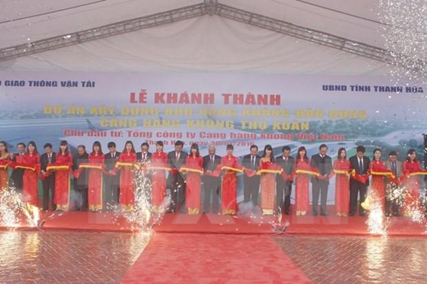 Inauguran zona de aviacion civil del aeropuerto Tho Xuan en Thanh Hoa hinh anh 1