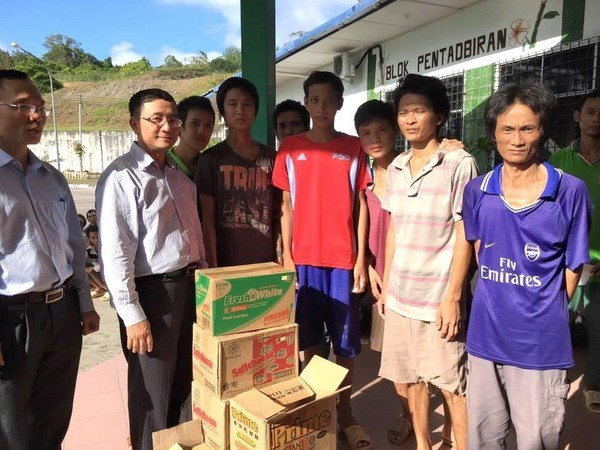 Vietnam se esfuerza para repatriar a pescadores detenidos en Malasia hinh anh 1