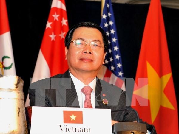 Vietnam necesita medidas adecuadas para obtener beneficios del TPP, dice ministro hinh anh 1