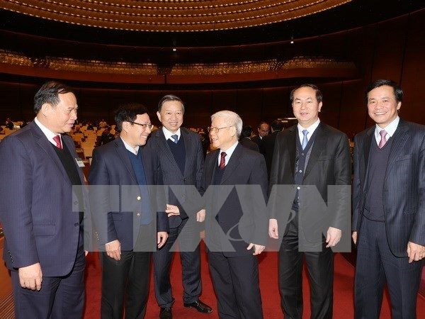 Discuten labores de eleccion a delegados parlamentarios de XIV Legislatura hinh anh 1