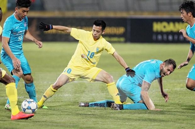 Gana club vietnamita ronda preliminar de AFC hinh anh 1
