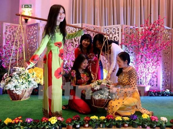 Entidades religiosas y organizaciones extranjeras en Vietnam felicitan el Tet hinh anh 1