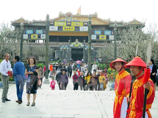 Entrada gratuita a ciudadela imperial de Hue en ocasion de Tet hinh anh 1