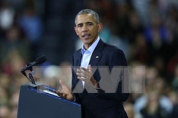 Celebra Barack Obama firma del TPP hinh anh 1