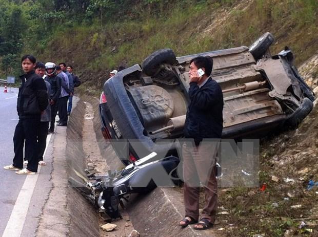 Reducen en enero accidentes de trafico en Vietnam hinh anh 1