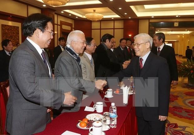 Secretario general del PCV destaca aportes de intelectuales al pais hinh anh 1