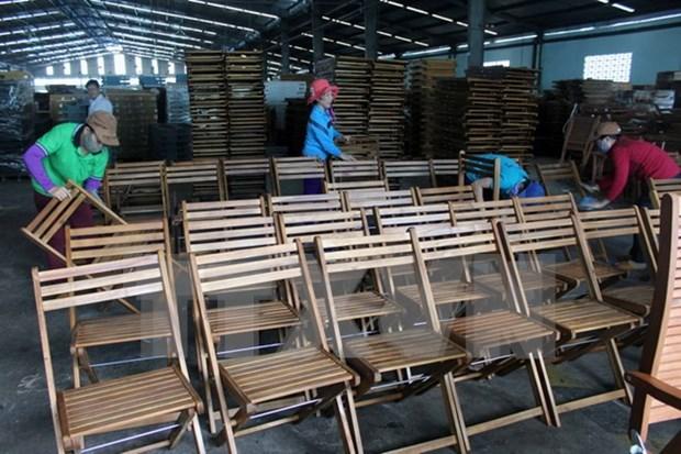 Vietnam, cuarto exportador mundial de productos madereros hinh anh 1
