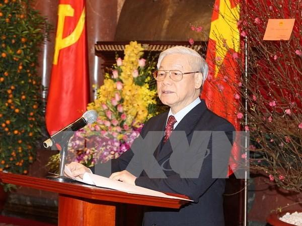 Asignan cargos a miembros del Buro Politico hinh anh 1