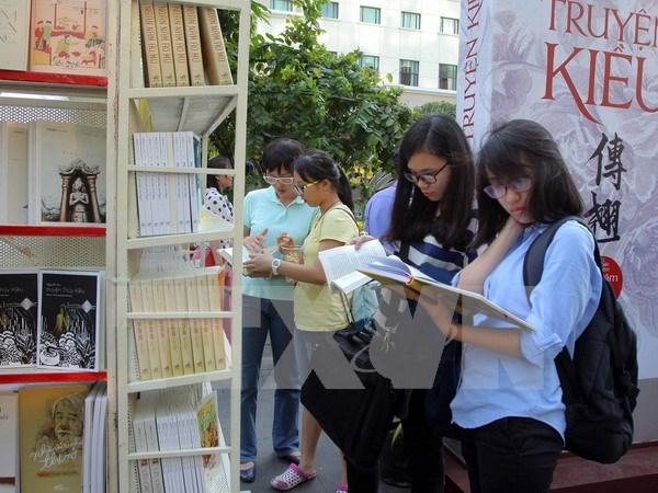 Calle del libro de Ciudad Ho Chi Minh abierta con amenas actividades hinh anh 1
