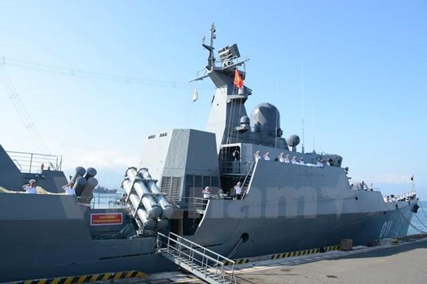 Vietnam participa en revision de flota internacional en la India hinh anh 1