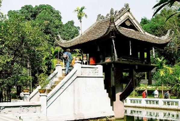 La pagoda del Pilar Unico, la de arquitectura mas singular en Vietnam hinh anh 1