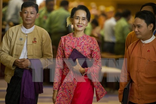 Inaugura nuevo Parlamento birmano su primera sesion hinh anh 1