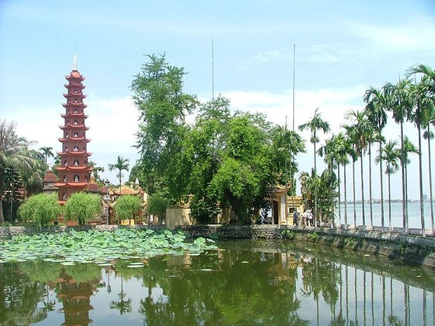 Pagoda Tran Quoc, una reliquia milenaria hinh anh 1