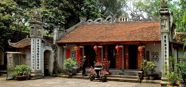 Templo de Voi Phuc atrae a visitantes por su historia hinh anh 1