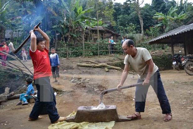 Comunidad minoritaria en extremo occidental de Vietnam celebra su Tet hinh anh 1