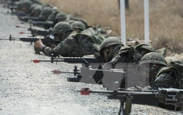 Estados Unidos y Tailandia inician maniobra Cobra Dorada 2016 hinh anh 1