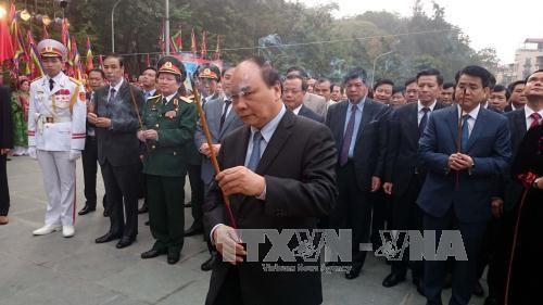 Vietnamitas rememoran victoria sobre invasores chinos hinh anh 1