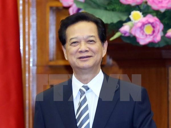 Premier vietnamita parte de Hanoi a Cumbre especial ASEAN – Estados Unidos hinh anh 1