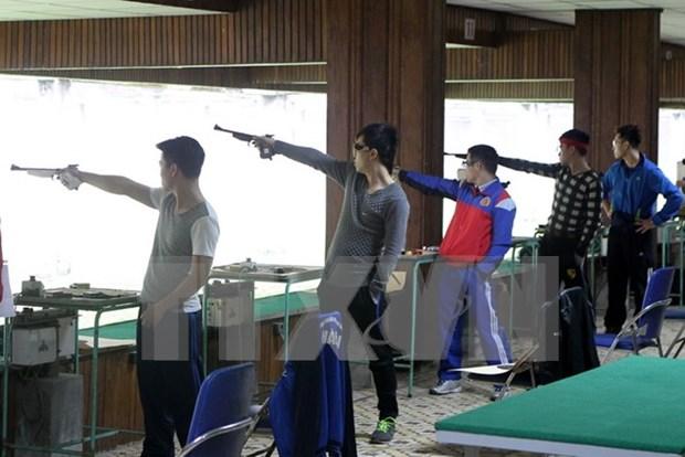 Participaran 12 tiradores vietnamitas en Copa Mundial 2016 hinh anh 1