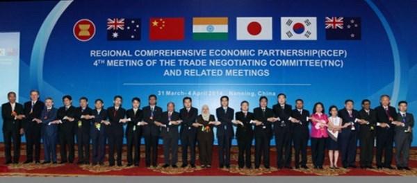 Inician oncena ronda de negociaciones sobre RCEP hinh anh 1