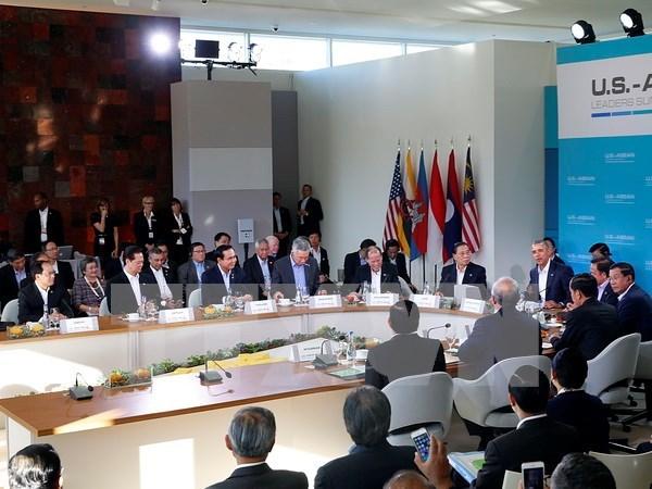 Premier vietnamita destaca importancia estrategica de nexos ASEAN - EE.UU. hinh anh 1