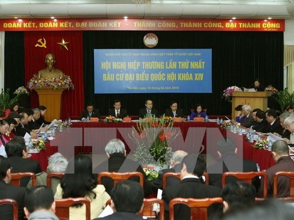 Vietnam organiza primera consulta sobre elecciones parlamentarias hinh anh 1